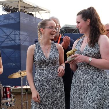 Die Gewinnerinnen mit der Goldenen Clara