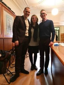 Paul Franklin mit den Jungen Freunden, Inga Müller und Florian Gradnitzer