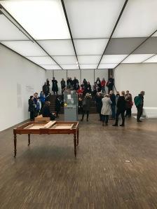 Das Marcel Duchamp Forschungszentrum soll auch Platz in der Ausstellung finden.
